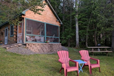 Cozy lakefront cabin on Snow Pond! - Oakland - Hus
