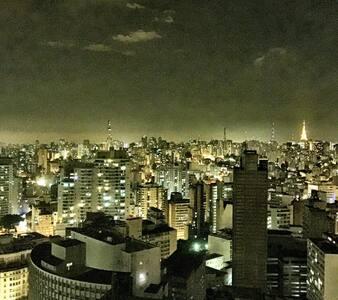 Great Location & View SP Downtown!! - São Paulo