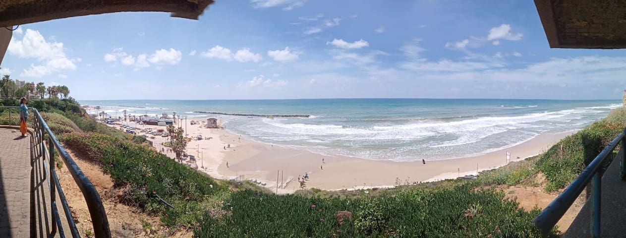 Netanya beach