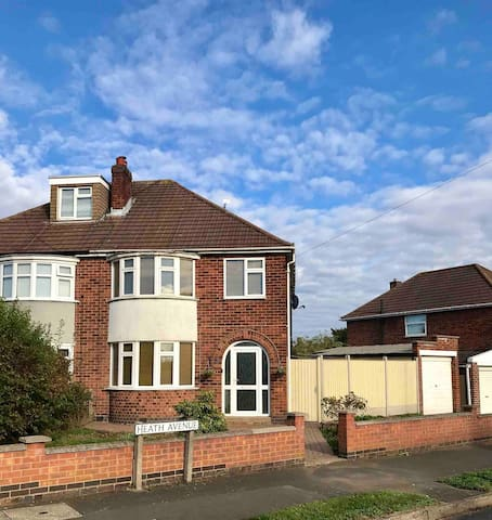 Enderby, Leicester 3 bedroom semi detached house