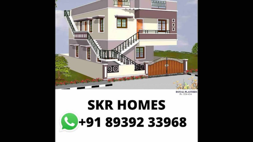 Home away home-Chennai near airport|SRM|ZOHO|MCC