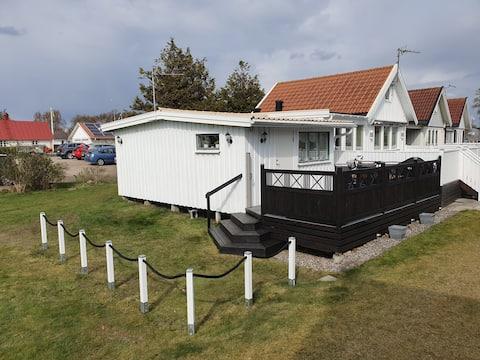 Havsnära Stuga på Stafsinge Strand