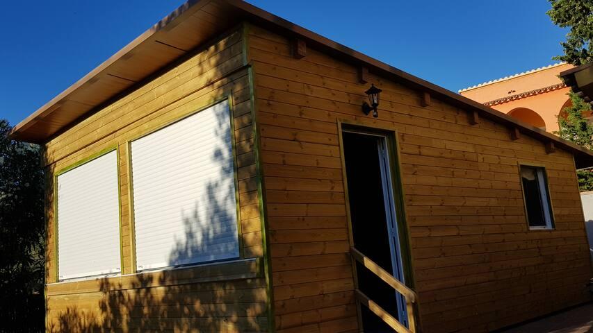 Bonita casita de madera