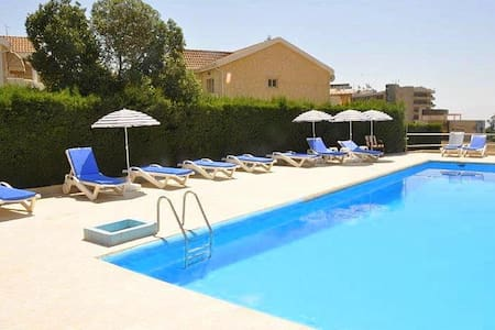 1 Bedroom near the sea with pool. P - Germasogeia