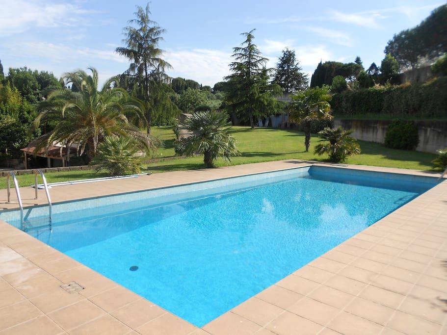 Villa con piscina e camino roma eur houses for rent in - Piscina eur roma ...