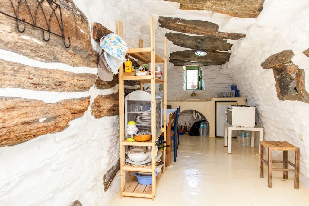 Traditional Aegean stone house