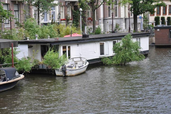 Centre houseboat, Jacuzzi, Terrace