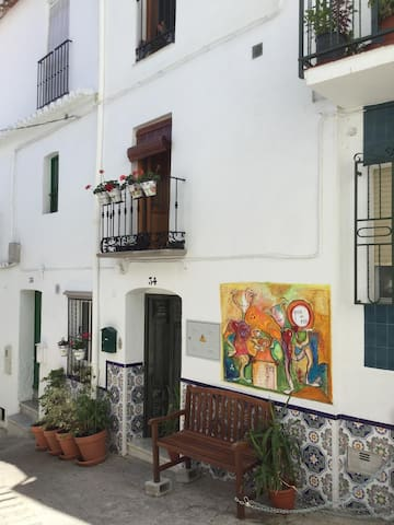 Traditional house/ b&b in the  centre of Competa - Cómpeta - B&B/民宿/ペンション