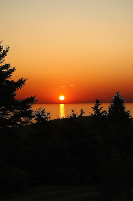 Another Sunset from the Front Deck