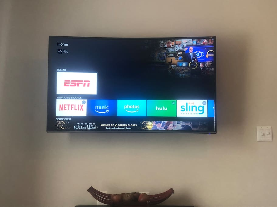 55 inch with fire stick