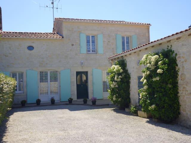 Maison spacieuse jusqu'à 7 pers. - Saint-Quantin-de-Rançanne - House
