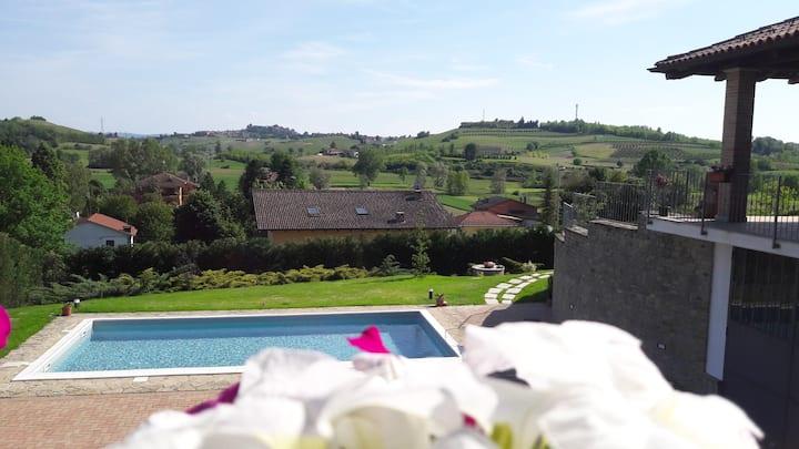 Villa Sofia homeholidays tra Langhe e Monferrato