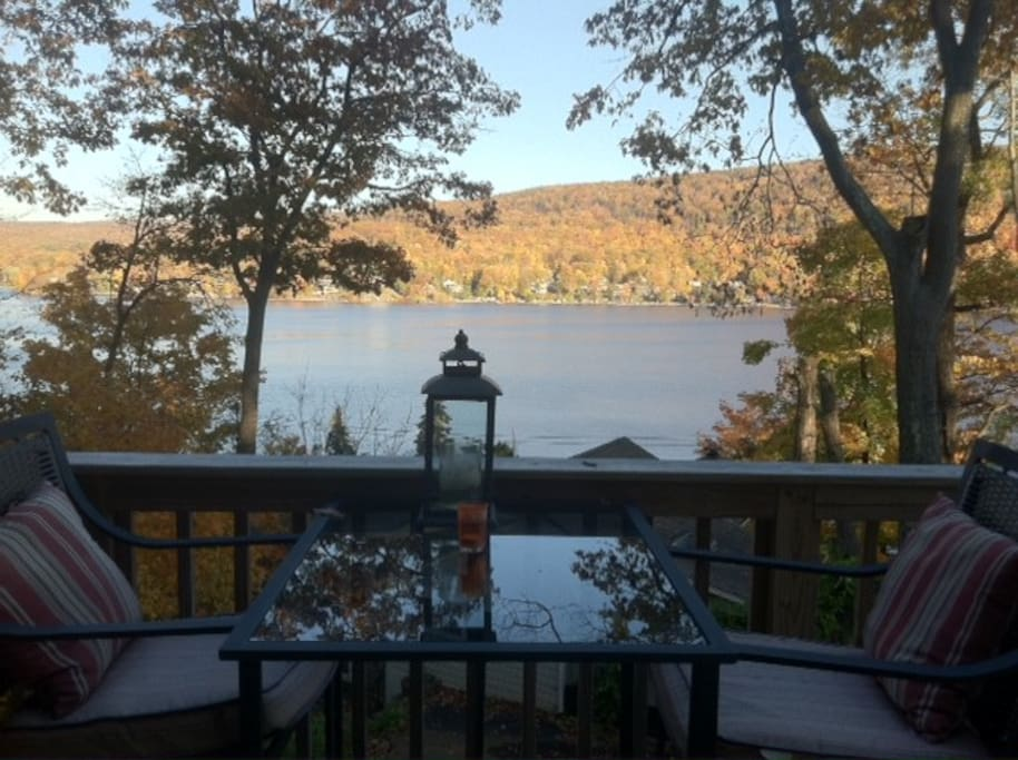Fall views from our front deck