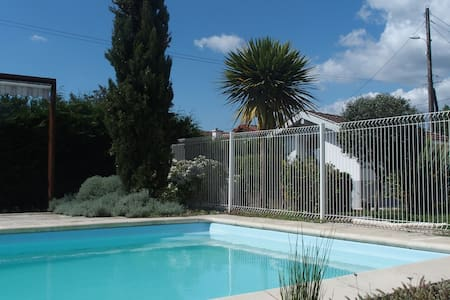 Studio 2pers. 20m2 - piscine - House