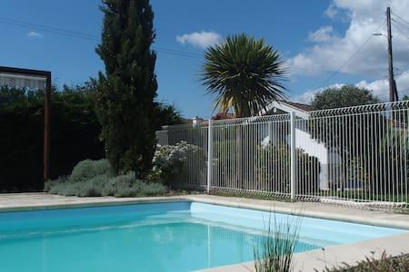 Studio 2pers. 20m2 - piscine - Haus