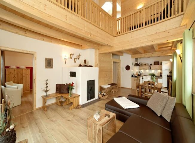 Wooden holiday chalets: Forsthaus - Teisnach - Talo