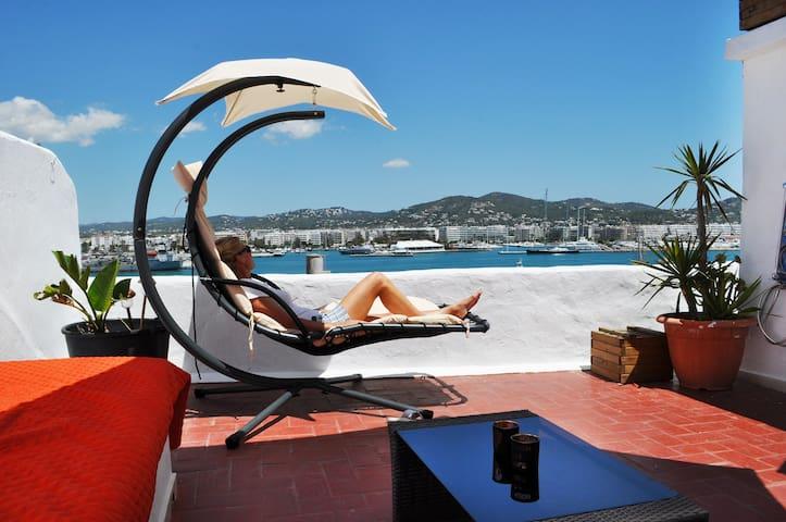 180º AMAZING seaview - Ibiza Town! - Eivissa - Haus