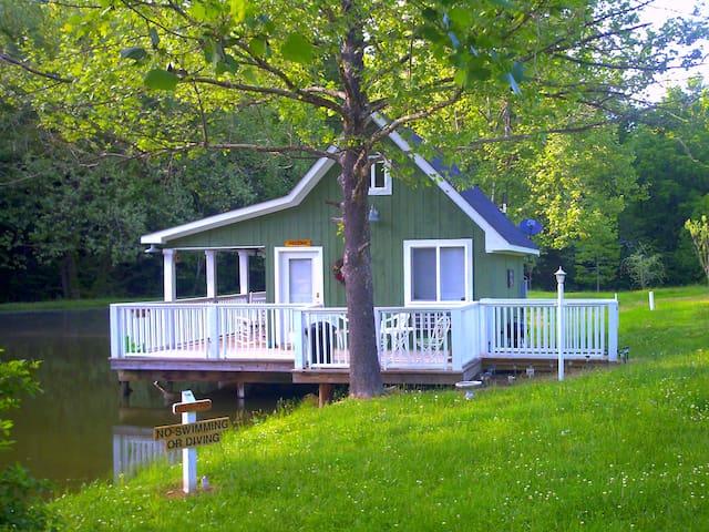 Lady Lydia's Cottage on the Pond