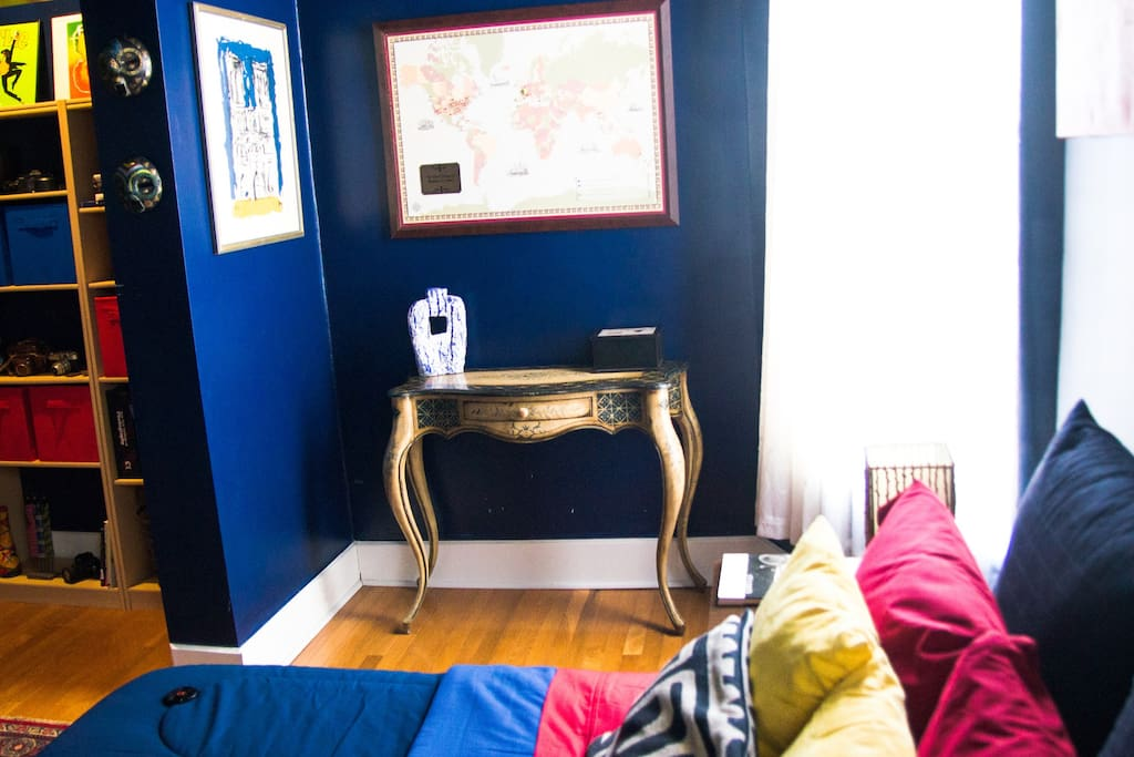 Your Jazzy Blu Private Guest Room