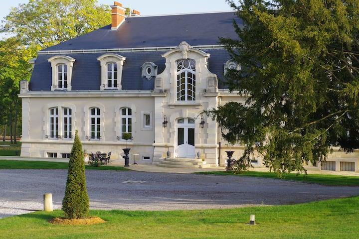 Château Domaine de Prin-Chambre Marie Antoinette