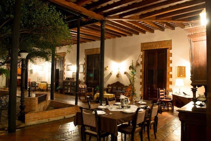 POSADA DON CARLOS colonial hostel - Ciudad Bolivar - Oda + Kahvaltı