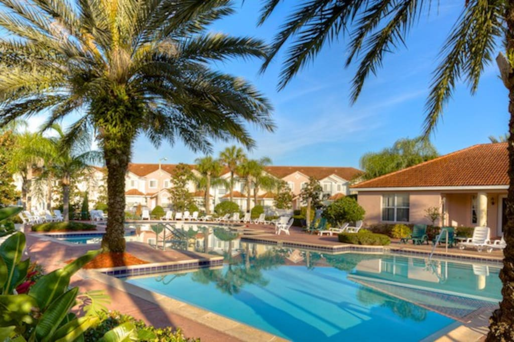 Beautiful House At Fiesta Key Resort In Orlando Fl
