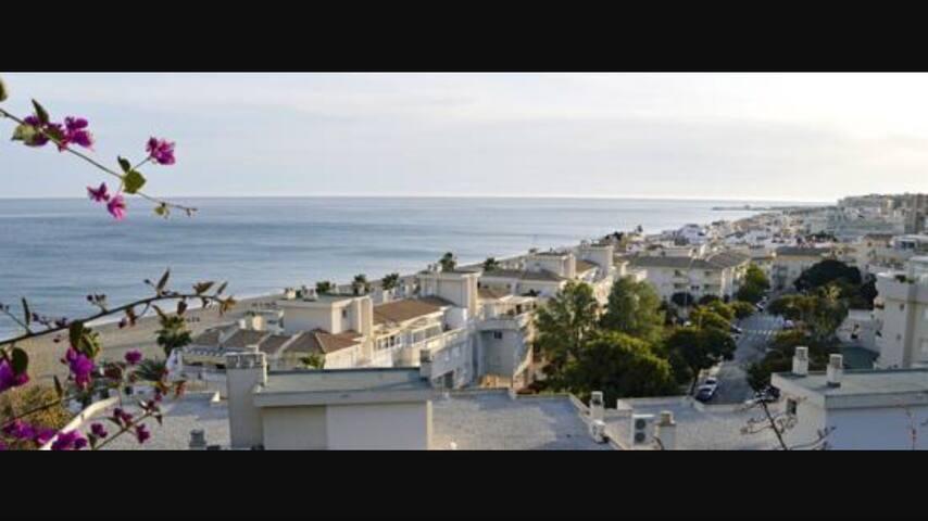 Habitación impresionantes vistas playa - Gijón - Talo