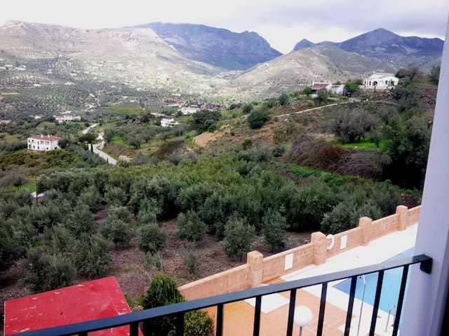 Cozy apartment in Axarquia (Alcaucin)