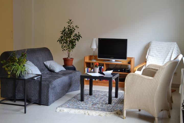 Goed gelegen, comfortabele studio