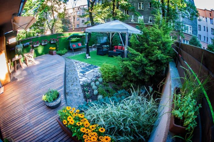 2 bedroom ap+amazing garden, center - Krakov - Byt