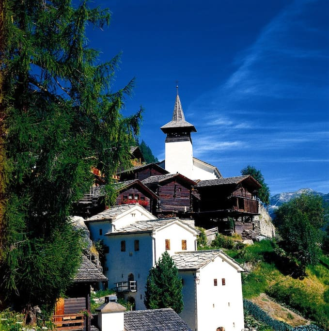 Village typique de Grimentz