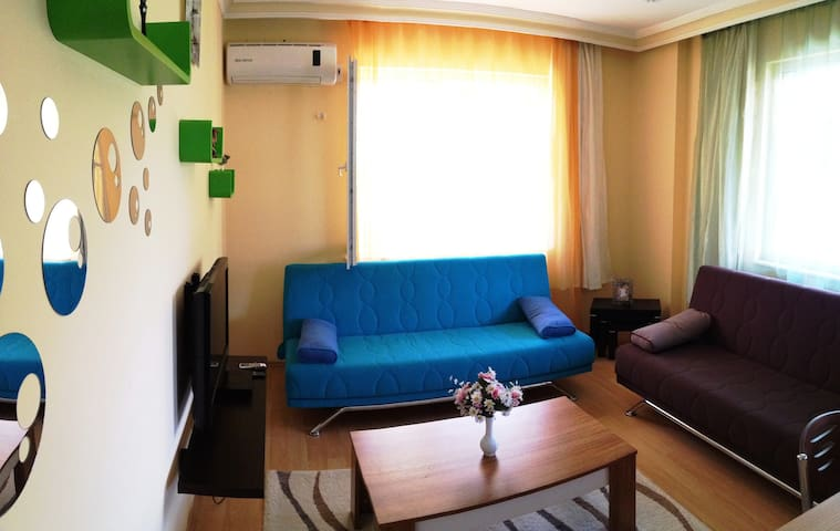 1+1 FULL FURNISHED FLAT IN ANTALYA - antalya - Huoneisto