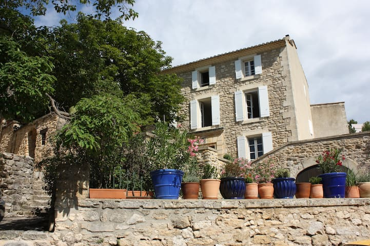 Studio with garden in Provence - Aurons - Apartmen