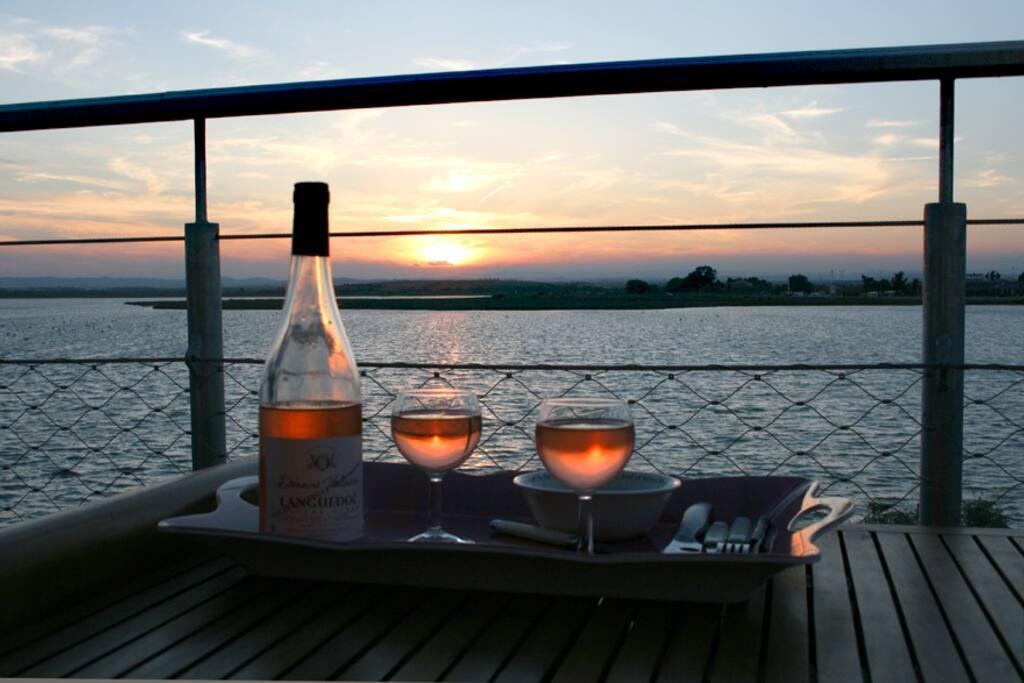 Couché de Soleil....Rosé !....