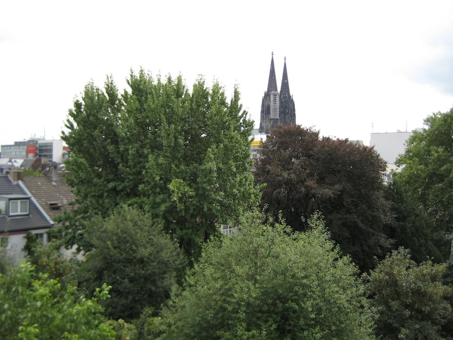 View to Cathedral