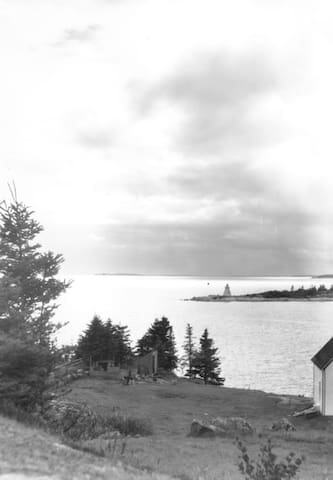 W.R. MacAskill photograph taken between 1920-1938 with our property in the foreground. NS Archives Photograph #200310744 https://novascotia.ca/archives/search/?q=indian+harbour%2C+ns.