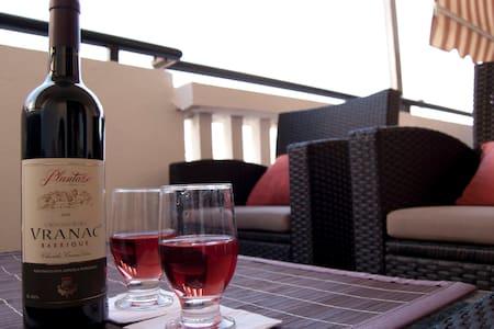 The nice & cozy apartment in Budva  - Budva - Pis