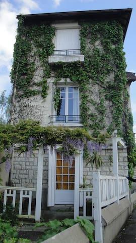Château, Seine et forêt à 50' de Paris - Héricy - Huis