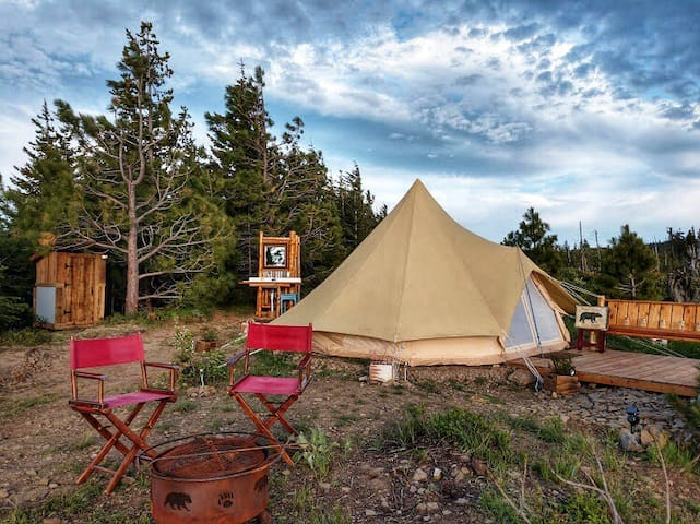 White Aspen Luxury Camping - The Enchantment Tent