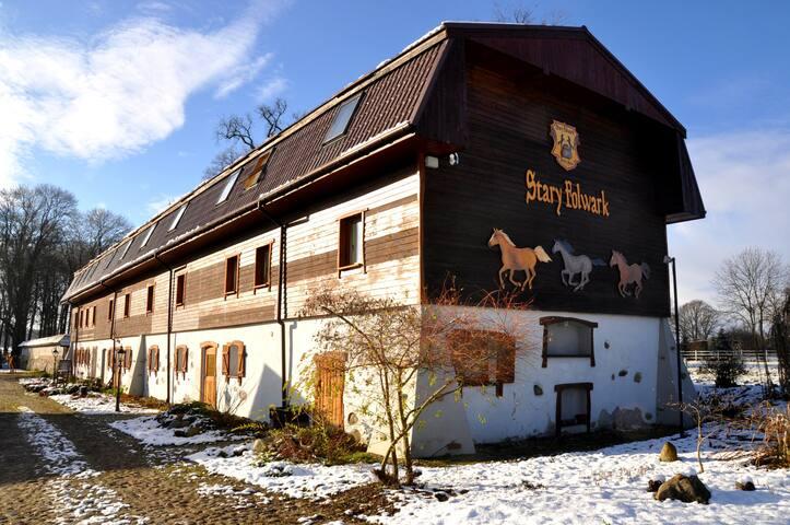 Stary Folwark - Lipinki Luzyckie - Vandrarhem