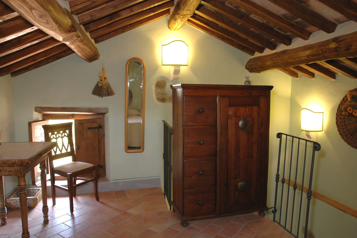 Fra Angelico room, at La Preghiera