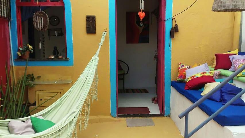 Casa de pescador no centro - Arembepe - Casa