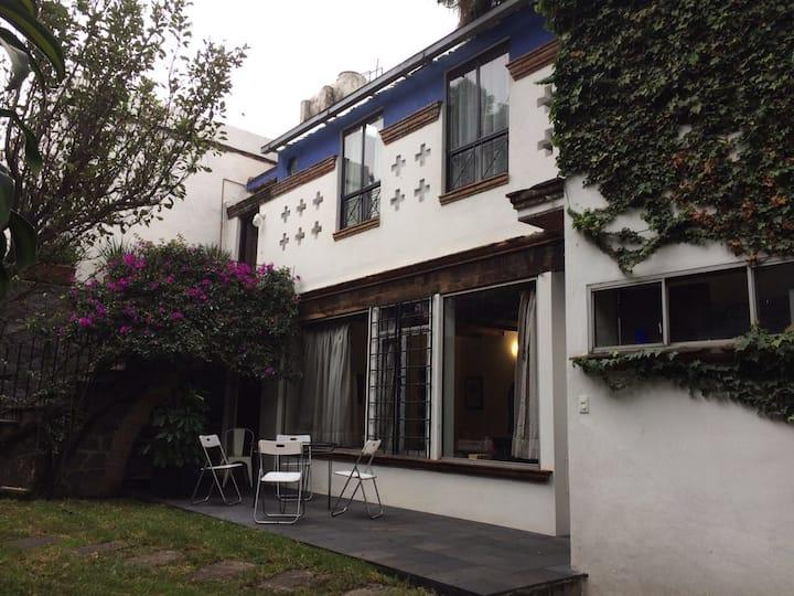 Loft Casa Orozco con jardín en Coyoacan