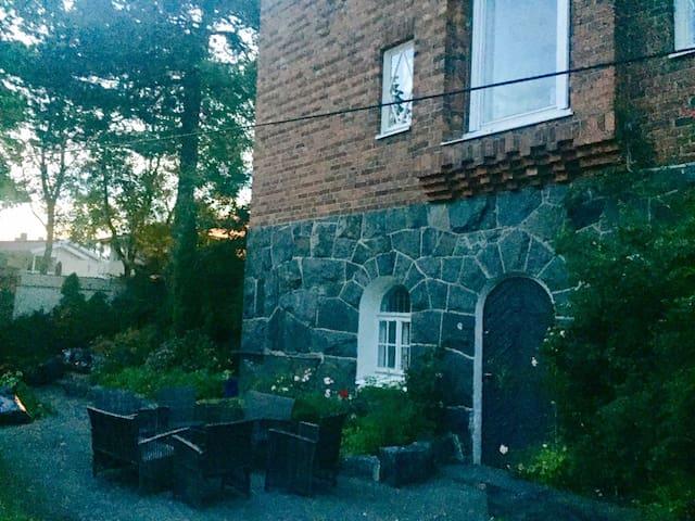 Family Private suite in exclusive villa in Brändö