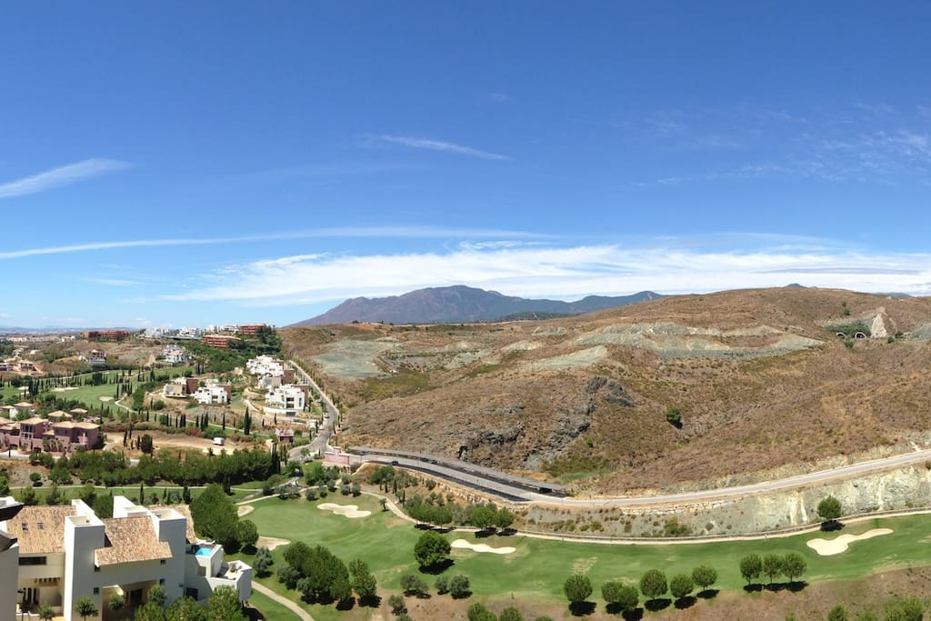 Panoramic view from Balcony!