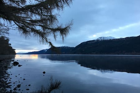 Loch Ness retreat, twin bed room - Inverness