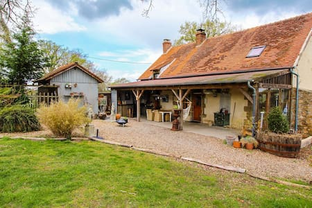 Archaic Holiday Home in Buxières-les-Mines with Swimming Pool