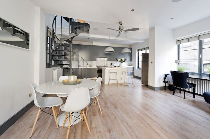 Unique Fitzrovia Penthouse with Roof Garden
