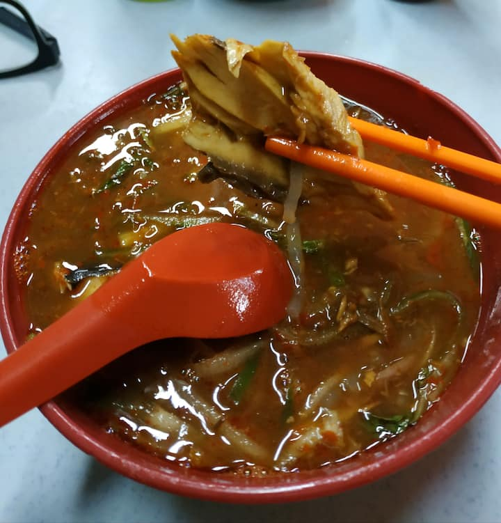 Famous Asam Laksa...only local knows