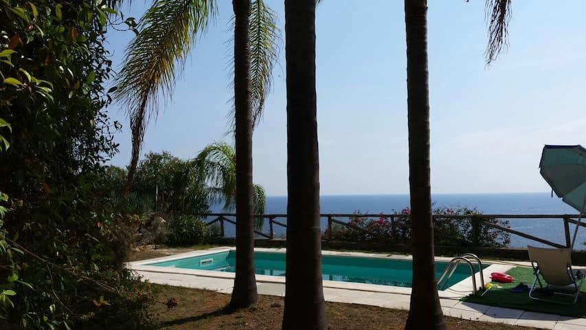 Relax con piscina privata e vista mare - Cipressa - 公寓